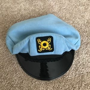 SAILORS HAT • THRIFTED